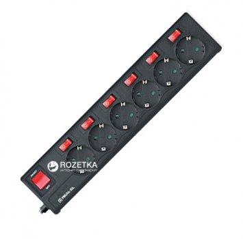 Сетевой фильтр-удлинитель Real-El RS-6 Extra 3 м Black
