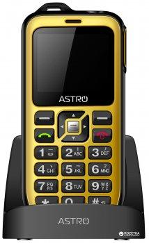 Мобильный телефон Astro B200 RX Black/Yellow