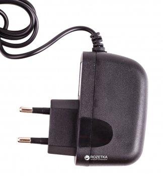 Сетевое зарядное устройство Drobak Win Cable 220V-USB Black (905324)