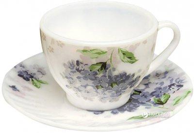 Набор чашек с блюдцами для кофе Lora NP55SETCUP2 100 мл 12 пр (H21-006)