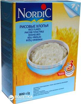 Пластівці рисові NordiC 800 г (6416597838430)