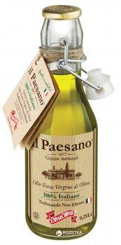 Оливковое масло Il Paesano Extra Vergine нефильтрованное 250 мл (5060235650567)