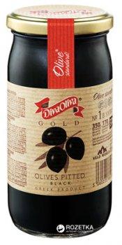 Маслины черные без косточки Diva Oliva Gold 370 мл (5060235651304)