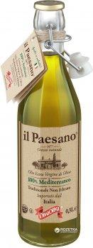Оливковое масло Il Paesano Extra Vergine нефильтрованное 500 мл (5060235650574)