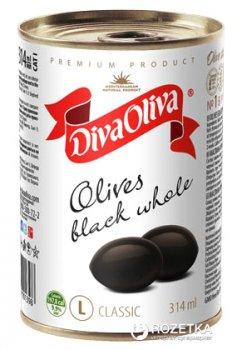 Маслины с косточкой Diva Oliva 300 г (5060162901398 / 8436024293081)