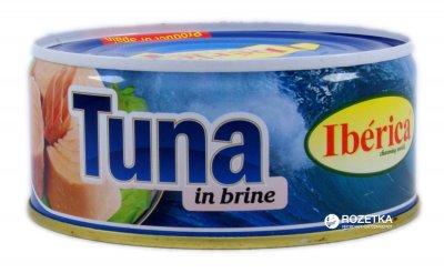 Тунец в собственном соку Iberica 266 г (8436024290615)