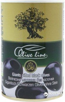 Маслины огромные без косточки Olive Line 425 г (8436024294415)