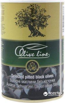 Маслини відбірні без кісточки Olive Line 420 г (8436024293777)