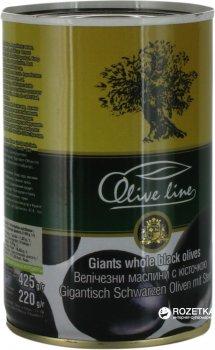 Маслины огромные с косточкой Olive Line 425 г (8436024294422)