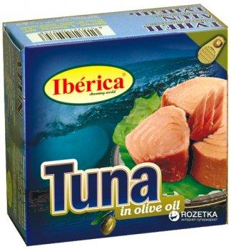 Тунец в оливковом масле Iberica 160 г (8436024290417)
