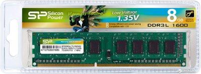Оперативная память Silicon Power DDR3L-1600 8192MB PC3-12800 (SP008GLLTU160N02)
