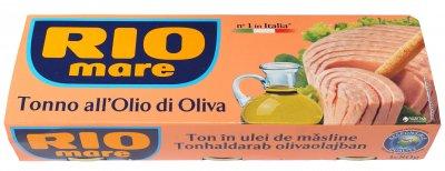 Тунец в оливковом масле Rio Mare 3 шт х 80 г (8004030344938)