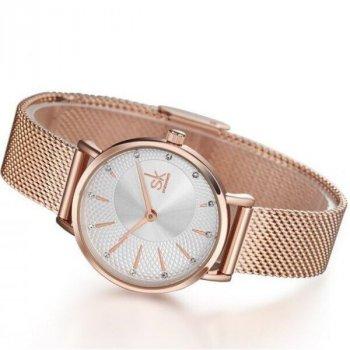 Жіночі годинники SHENGKE LADY GOLD 9109