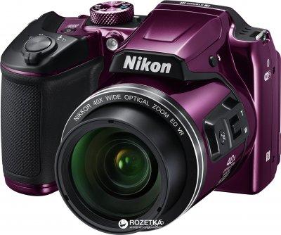 Фотоапарат Nikon Coolpix B500 Purple (VNA952E1) Офіційна гарантія!