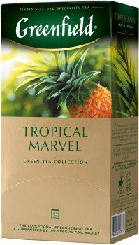 Чай пакетований Greenfield Tropical Marvel 25 х 1.5 г (4823096803937)