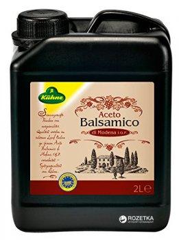 Уксус Kuhne Balsamico di Modena бальзамический из Модены 6% 2 л (4012200016213_4012200162408)