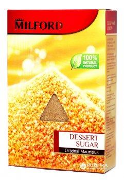 Сахар тростниковый Milford нерафинированный десертный 500 г (4002221018129)