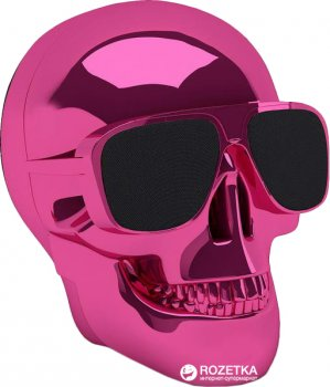 Акустична система Jarre Aeroskull Nano Chrome Pink (ML80113)