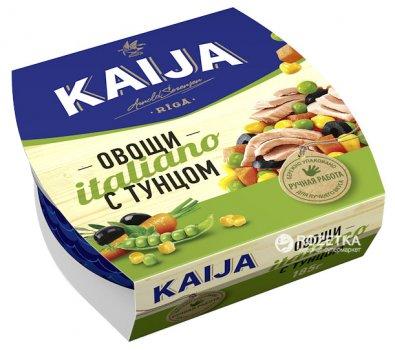 Тунец с овощами Kaija Italiano 185 г (4751007733137)