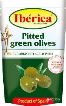 Оливки зеленые без косточки Iberica 170 г (8436024294668)