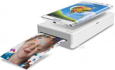 Мобільний фото-принтер Prinics PicKit M1 Smartphone Photo Printer White (M-1W)
