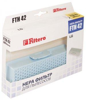 HEPA фільтр для пилососа FILTERO FTH 42