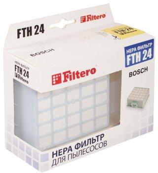 HEPA фільтр для пилососа FILTERO FTH 24