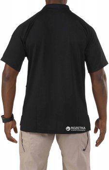 Футболка-поло тактична 5.11 Tactical Performance Polo - Short Sleeve, Synthetic Knit 71049 Black