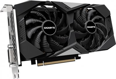 Gigabyte PCI-Ex GeForce GTX 1650 Super Windforce OC 4GB GDDR6 (128bit) (1725/12000) (HDMI, DisplayPort, DVI-D) (GV-N165SWF2OC-4GD)