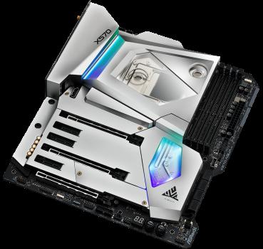 Материнская плата ASRock X570 AQUA (sAM4, AMD X570, PCI-Ex16)