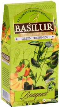 Чай зеленый рассыпной Basilur Букет Зеленая свежесть 100 г (4792252100268)