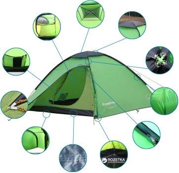 Палатка KingCamp Elba 3 Green (KT3038 green)