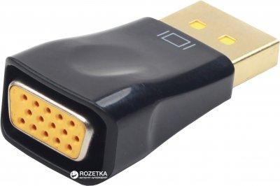 Переходник Cablexpert DisplayPort - VGA (A-DPM-VGAF-01)