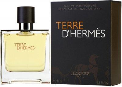 Парфумована вода для чоловіків Hermes Terre D'hermes 75 мл (3346131402205)