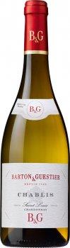 Вино Barton & Guestier Chablis Passeport белое сухое 0.75 л 12% (3035130304107)