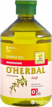 Гель для душа O'Herbal Питательный с экстрактом годжи 500 мл (5901845500036)