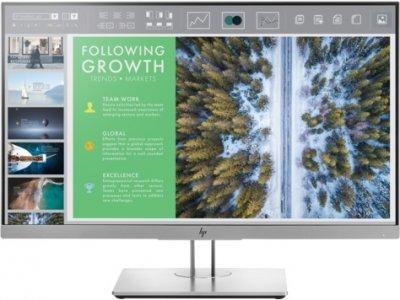 "Монітор HP 23.8"" EliteDisplay E243 (1FH47AA) IPS Silver; 1920x1080, 5 мс, 250 кд/м2, D-Sub, Display Port, HDMI, USB-хаб"