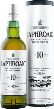 Виски Laphroaig 10 лет выдержки 0.7 л 40% (5010019640260)