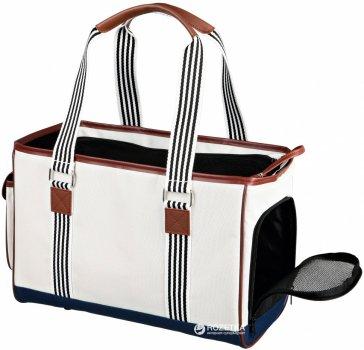 Сумка-переноска для собак і кішок Trixie Elisa Carrier 20 х 26 x 41 см до 5 кг Біла (4011905362472)