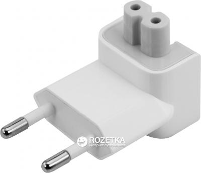 Перехідник мережевий PowerPlant для зарядного пристрою Apple iPad євровилках (APADAPTEURO)(GM-PMPPAP)