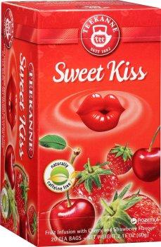 Чай трав'яний пакетований Teekanne Солодкий поцілунок 20 пакетиків (4009300522683)
