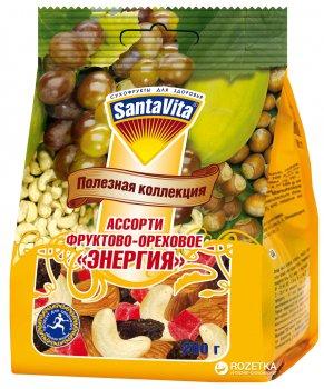 Суміш фруктово-горіхова Енергія SantaVita Корисна колекція 200 г (4820061500693)