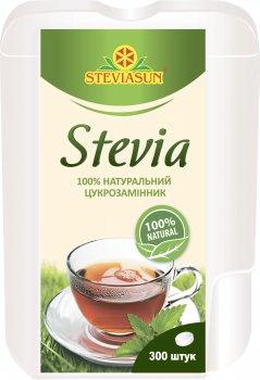 Заменитель сахара Стевиясан в таблетках 300 шт (4820035540342)