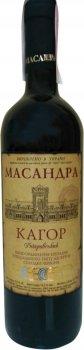 Вино Масандра Кагор Дніпровський червоне десертне 0.75 л 16% (4820013376406_4820013375386)