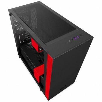 Корпус NZXT H400 Black Red (CA-H400B-BR)