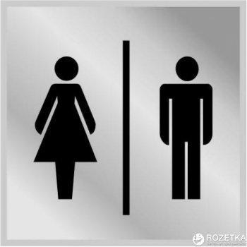 Табличка АТМА Туалет