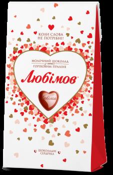 Конфеты Любимов в молочном шоколаде 100 г (4820005195138)