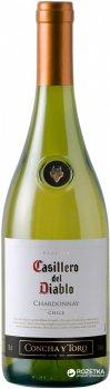 Вино Casillero del Diablo Chardonnay Reserva белое сухое 0.75 л 13.5% (7804320256900)