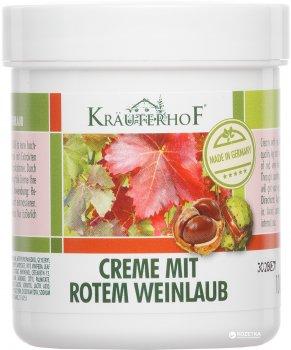 Крем для ног Krauterhof с экстрактом листьев красного винограда 100 мл (40757636)