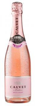 Вино ігристе Calvet Cremant de Bordeaux Brut рожеве брют 0.75 л 10.5% (3500610065767)